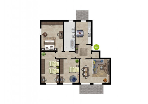Vai alla scheda: Appartamento Vendita Rescaldina
