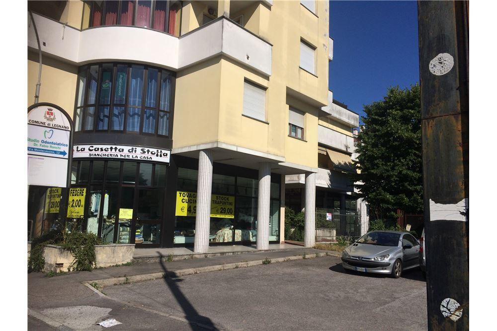 NEGOZIO in Affitto a Flora, Legnano (MILANO)