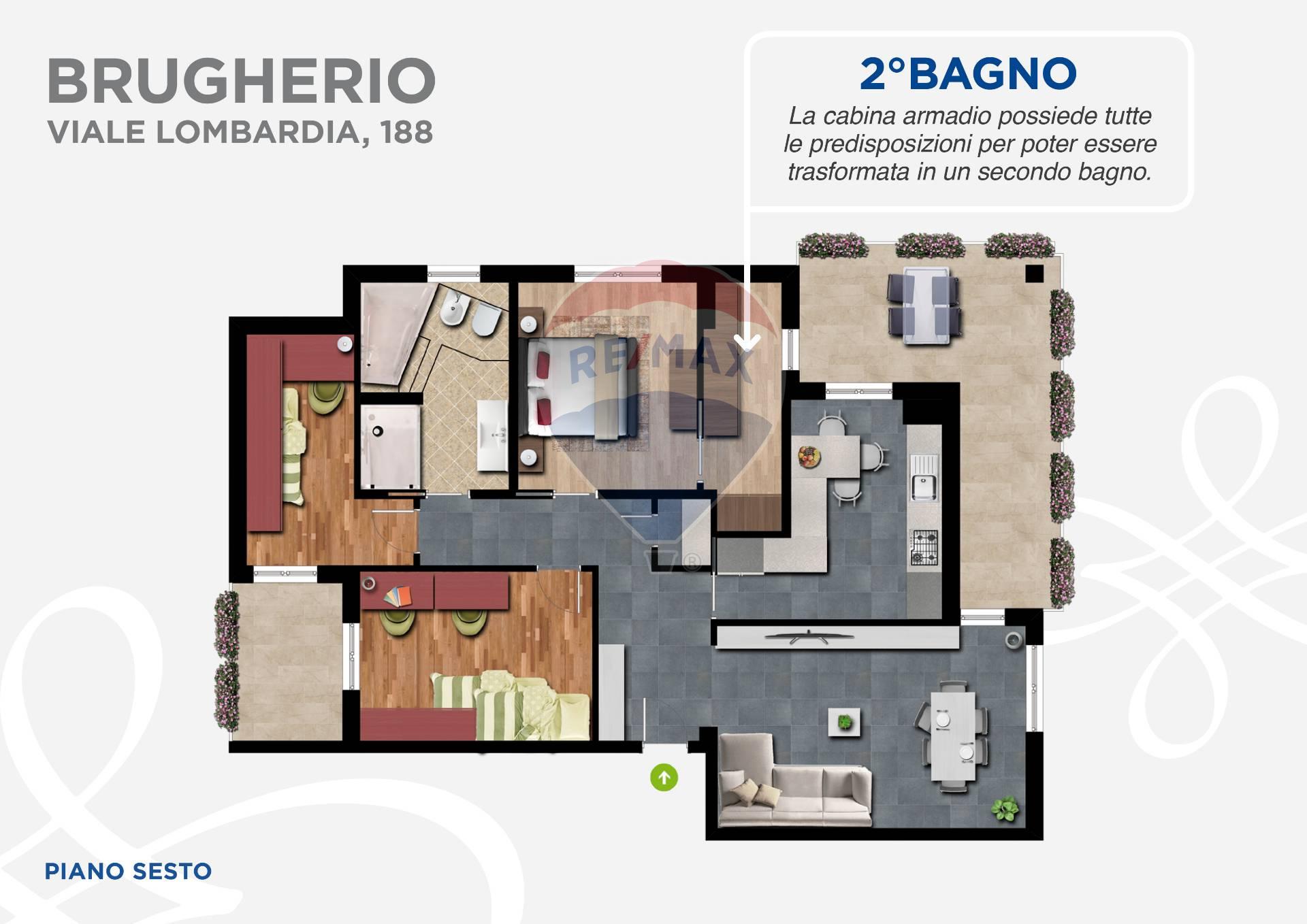 Appartamento in vendita Milano-De Angeli Vercelli Washington-Via Sant' Eusebio Brugherio