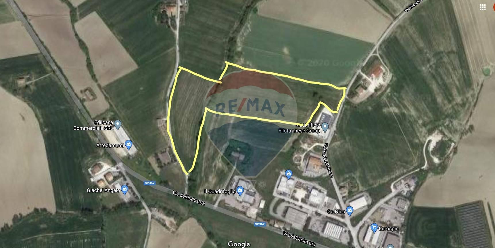 Terreno Agricolo in vendita a Filottrano, 9999 locali, zona Località: PonteMusone, prezzo € 141.700   CambioCasa.it