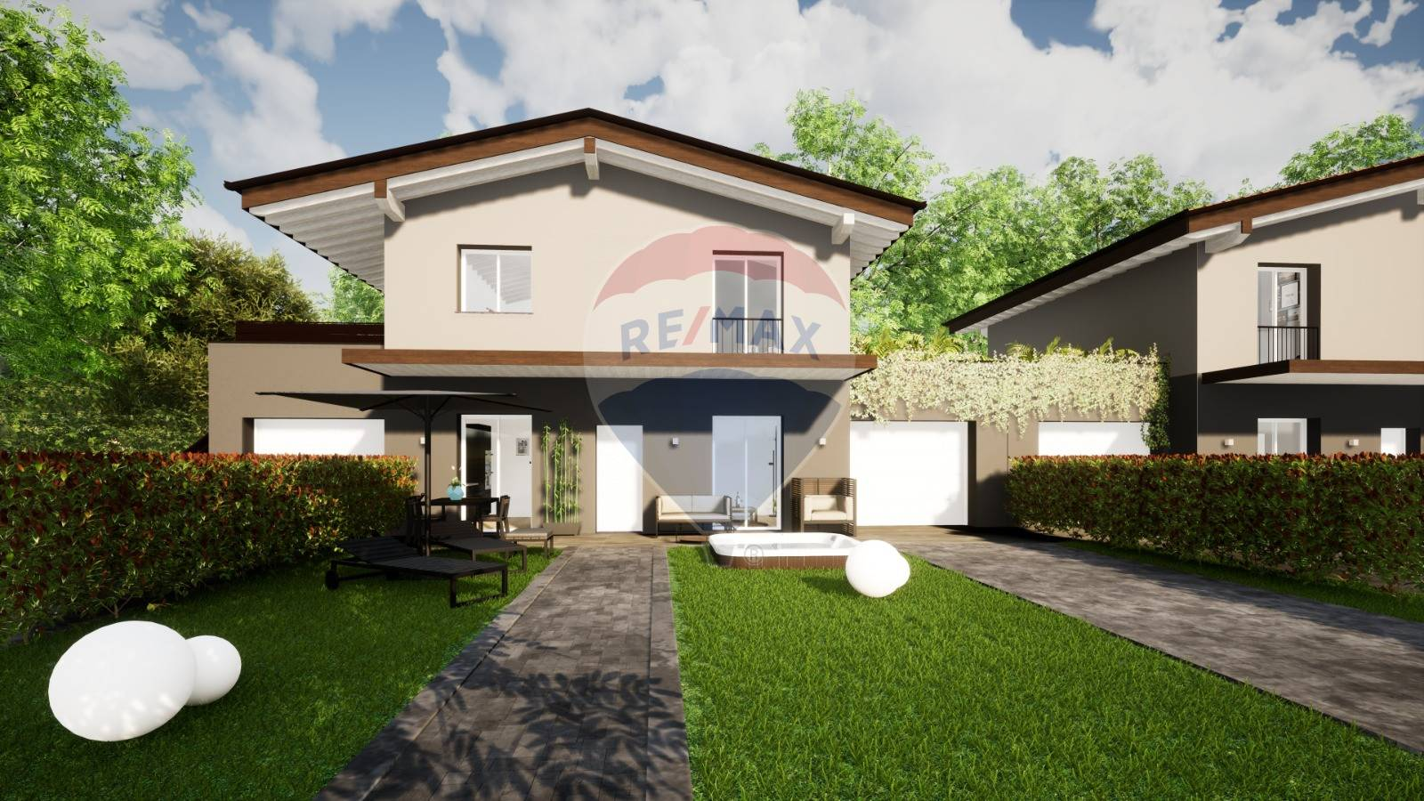 Villa Bifamiliare in vendita a Lonato, 3 locali, prezzo € 245.000   CambioCasa.it