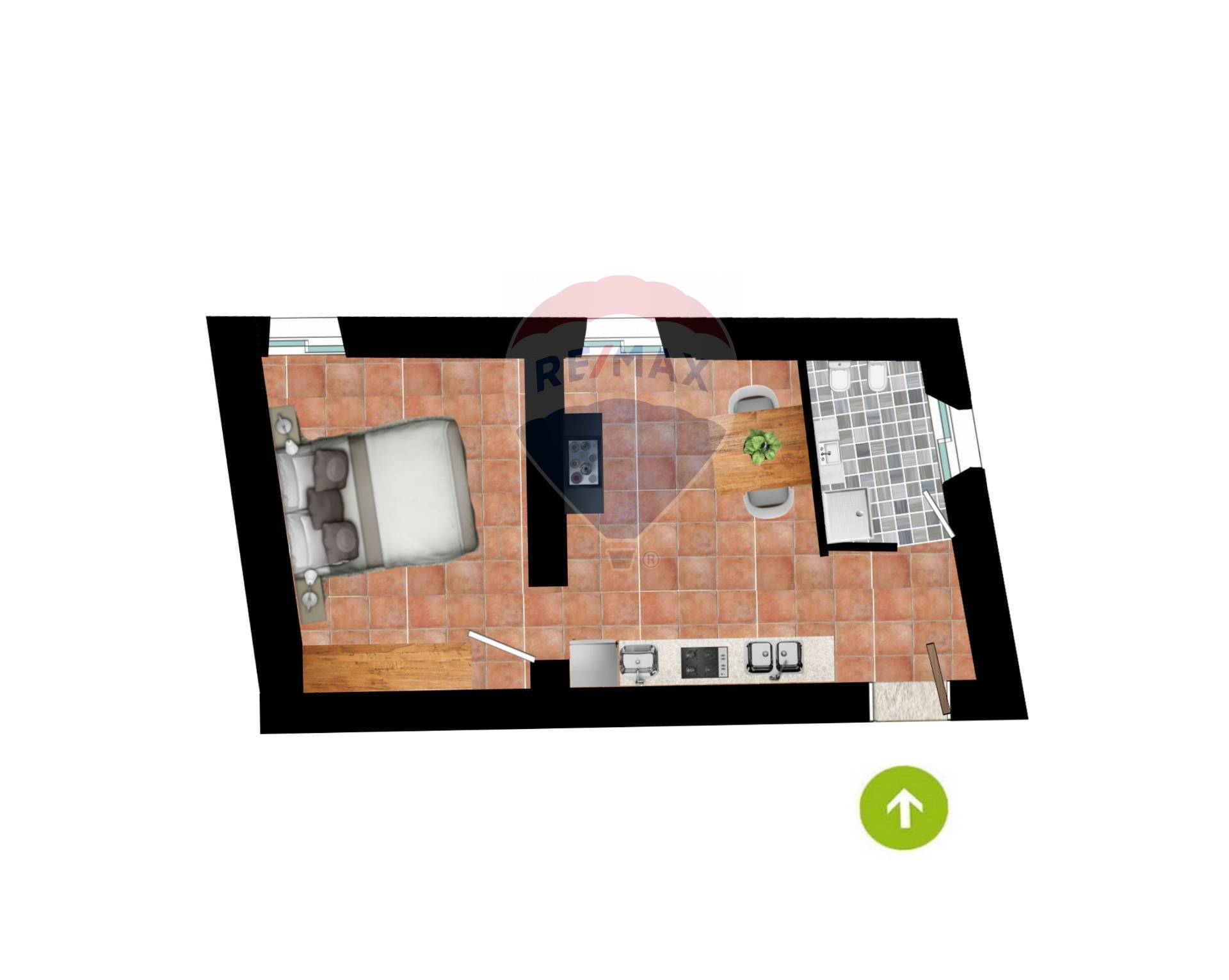 Appartamento in vendita a San Vito Romano, 2 locali, prezzo € 30.000 | CambioCasa.it